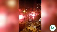 Violentos disturbios y enfrentamientos con la Policía en Málaga, Melilla y Granada por el estado de alarma.