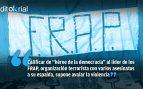 Para Iglesias, un jefe terrorista es un «héroe de la democracia»