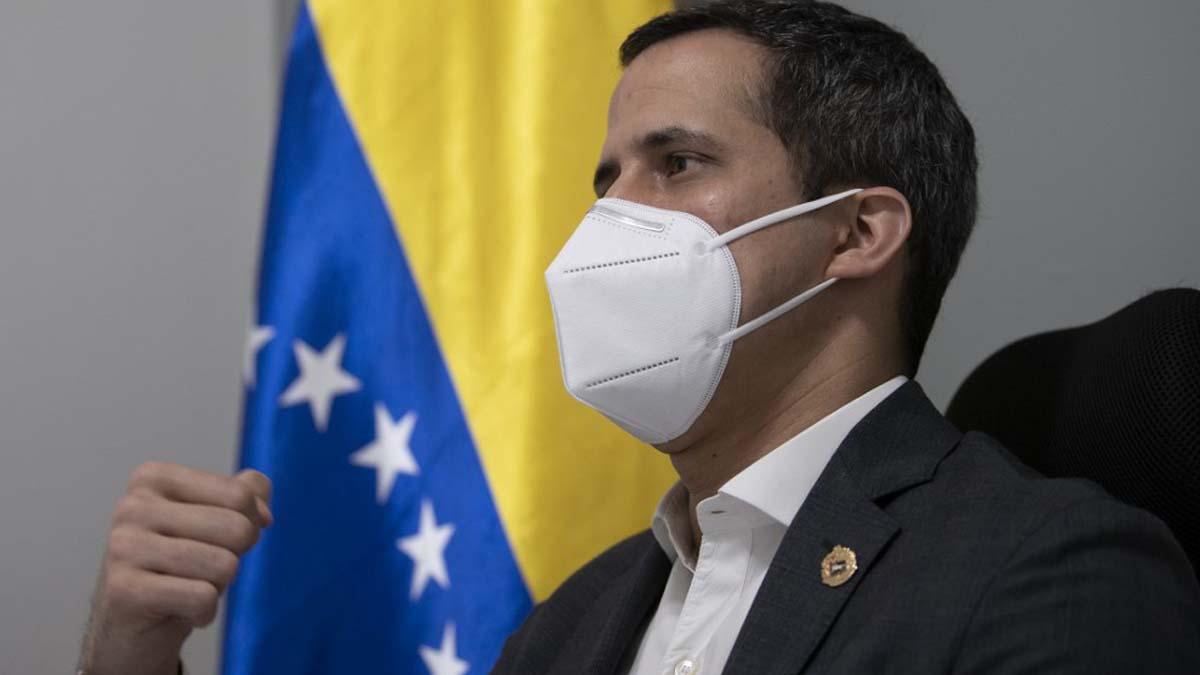 Juan Guaidó, presidente encargado de Venezuela. Foto: AFP