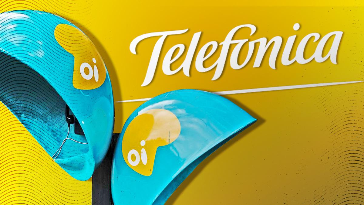 Telefónica y Oi.