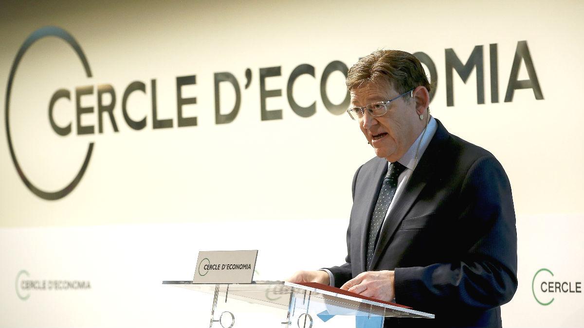 El presidente de la Generalitat valenciana, el socialista Ximo Puig. (Foto: Efe)