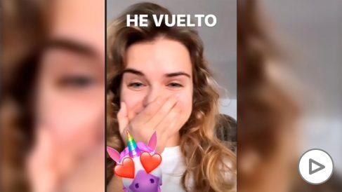 Marina Yers vuelve a Instagram y desmiente los rumores sobre su desaparición.