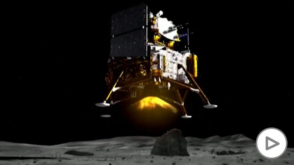 Aluniza con éxito la sonda china que traerá muestras lunares por primera vez en 44 años