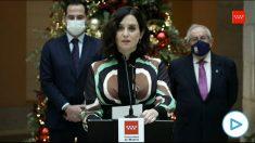 Isabel Díaz Ayuso recuerda que Cataluña gasta «303 millones en TV3, lo que equivale a tres zendales».