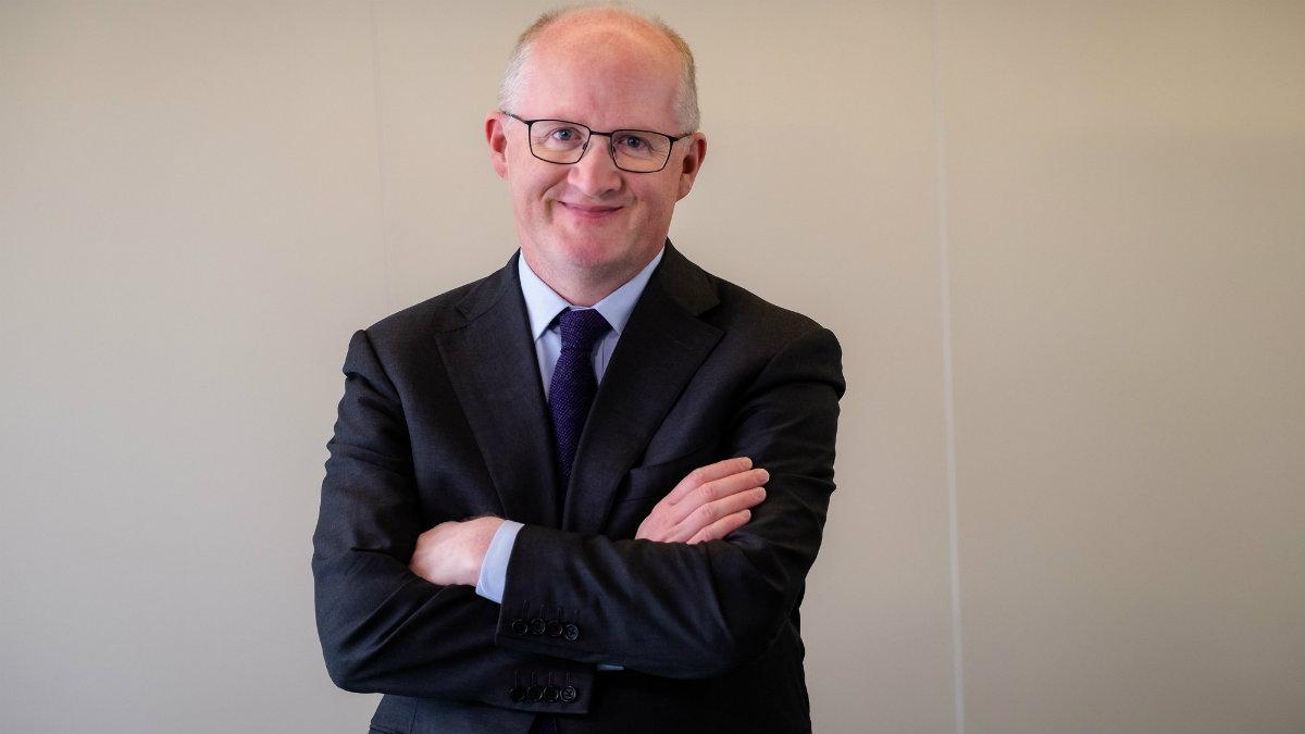Philip Lane, miembro del directorio del BCE