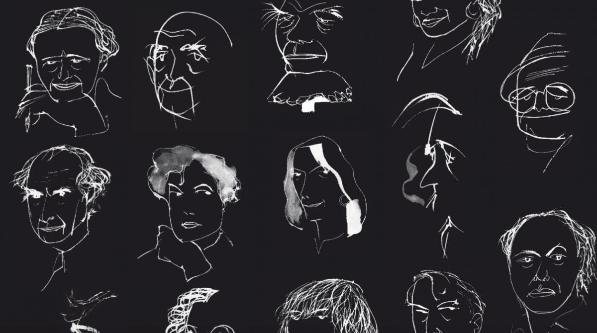 Detalle de 'The Paris Review', entrevistas (1953-2012) @Acantilado