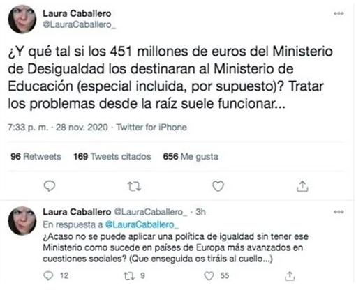La directora de 'La que se avecina' contra Montero: «Sería mejor si dedicasen su presupuesto a educación»