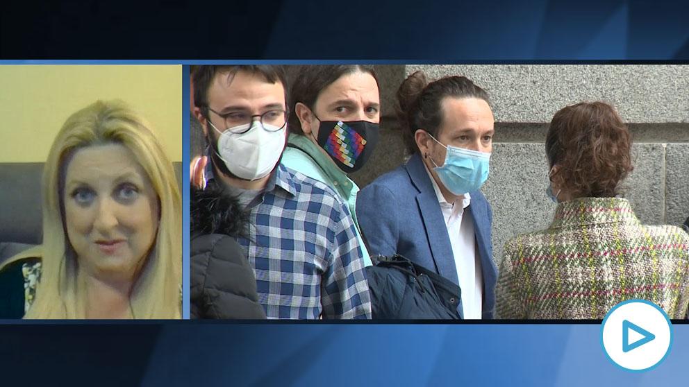 Sonia Garrido a Iglesias: «No me siento protegida con 18 € al mes de Ingreso mínimo vital»
