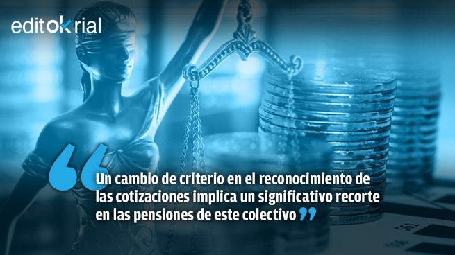 Alevoso tijeretazo a las pensiones de los funcionarios de Justicia