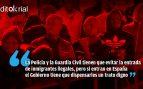 El socialcomunismo esconde a los inmigrantes en inmundos barracones