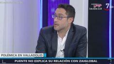 El periodista de Onda Cero, Roberto Mayado, en CyLTV. (Imagen: CyLTV)