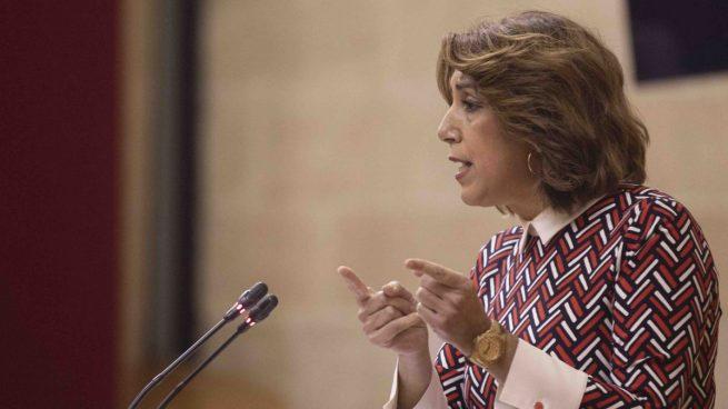 IU sale en defensa de Susana Díaz: cree que no tiene que explicar el desfalco socialista de 55 millones