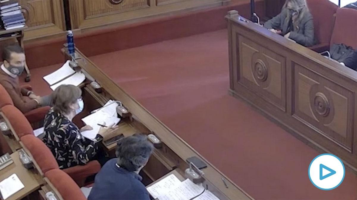 Pleno del Ayuntamiento de Badajoz.