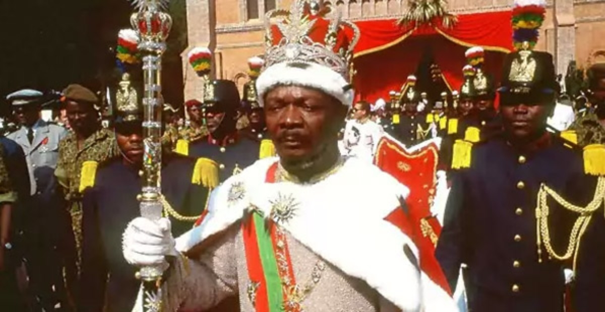 Bokassa I fue el último emperador africano antropófago y amante de los diamantes