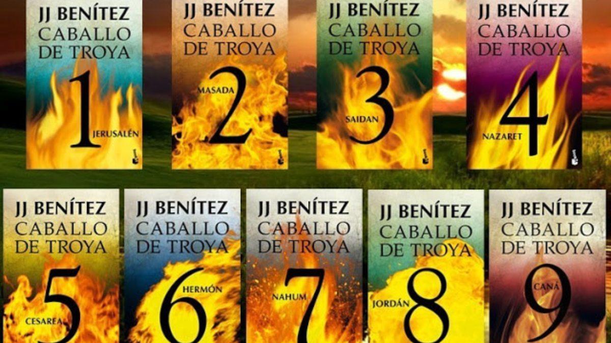 La saga literaria 'Caballo de Troya', de JJ Benitez