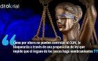 Sánchez e Iglesias perpetran un nuevo ataque a la independencia judicial