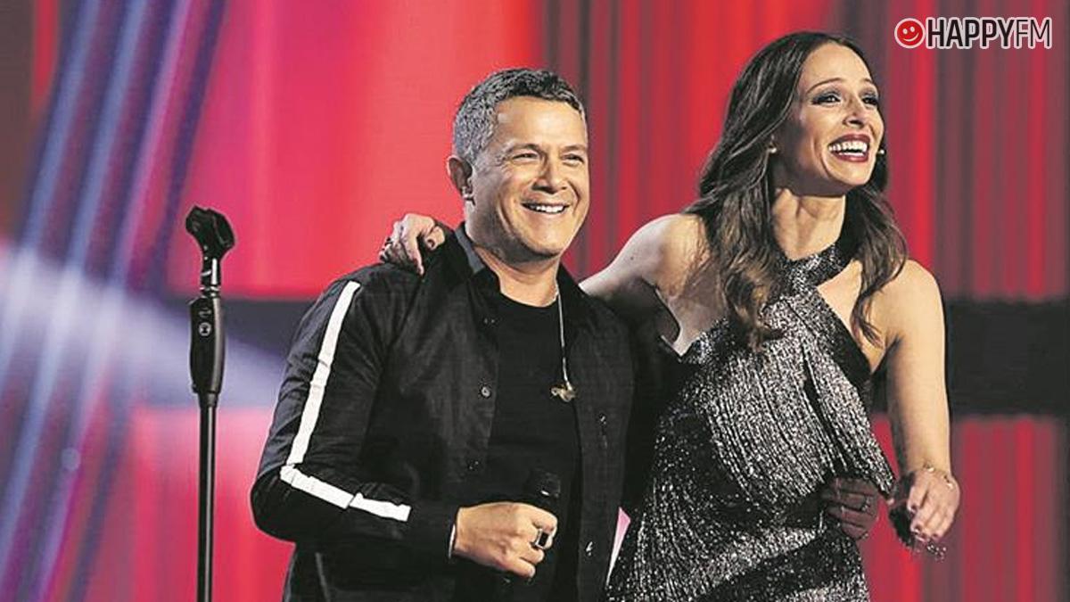 Eva González y Alejandro Sanz en 'El Hormiguero'