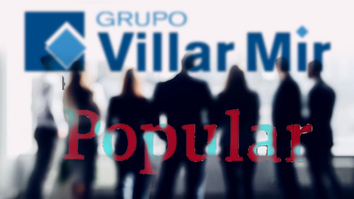 Exdirectivos del Popular admiten que el banco exigió al Grupo Villar Mir comprar acciones para darle crédito.