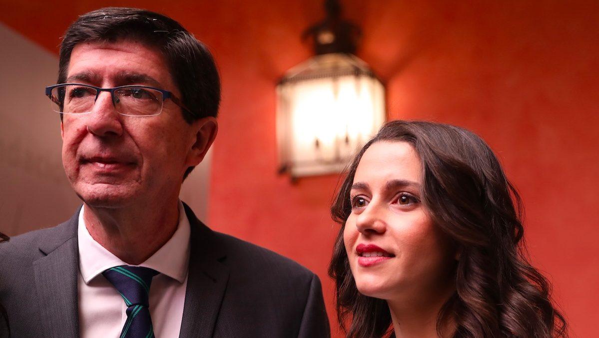 Juan Marín e Inés Arrimadas.