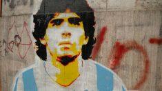 Los graffitis callejeros de Diego Armando Maradona estarán presentes en Tour.