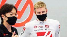 Mick Schumacher con Haas (@SchumacherMick)