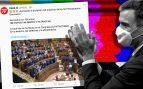 El PSOE aplaude a los «valientes y patriotas» diputados de Otegi y Junqueras por votar los Presupuestos