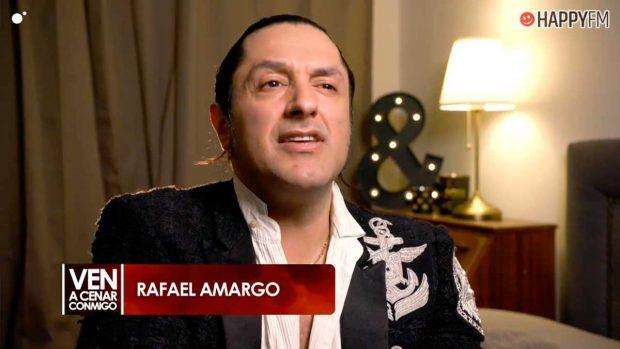 Rafael Amargo durante su paso por 'Ven a cenar conmigo'