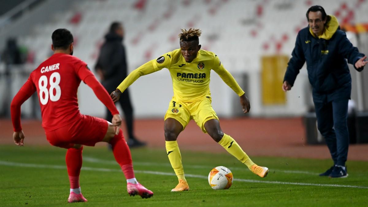 Samu fue el mejor del Villarreal en su visita a Turquía. (AFP)