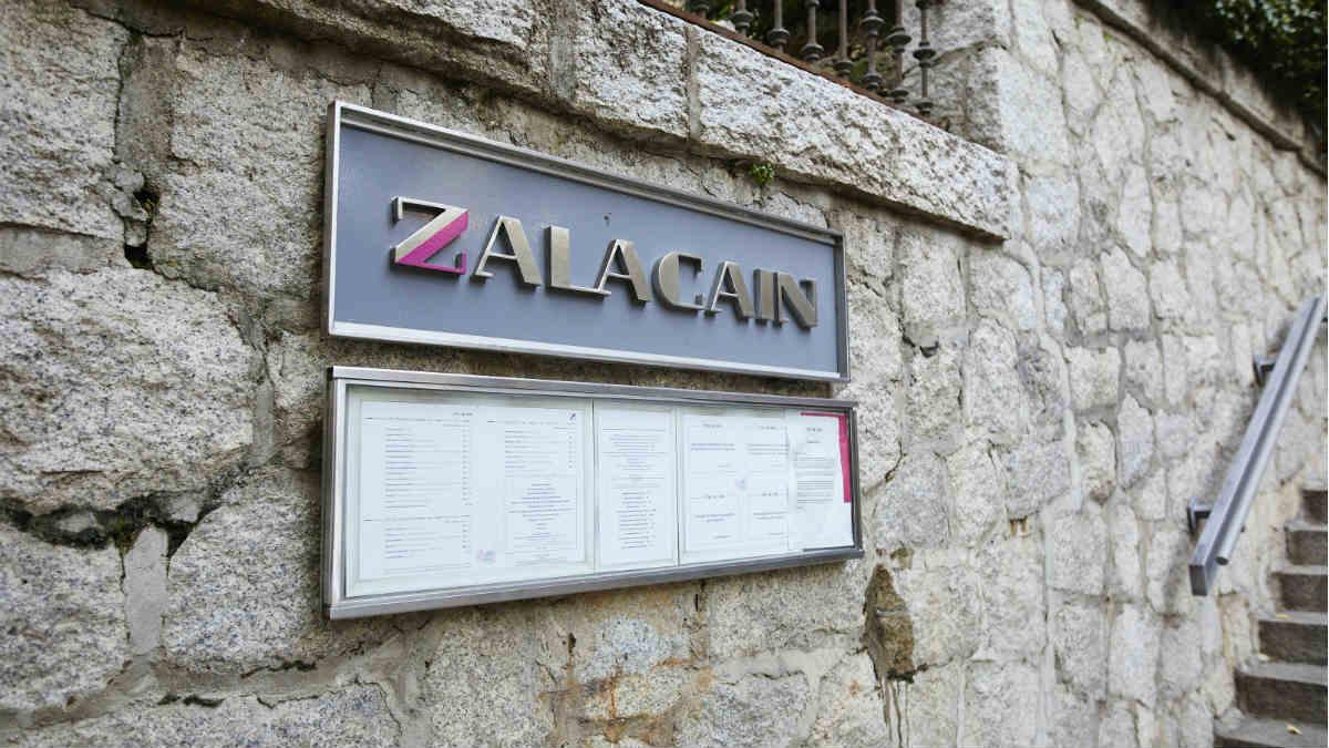Entrada en Zalacaín