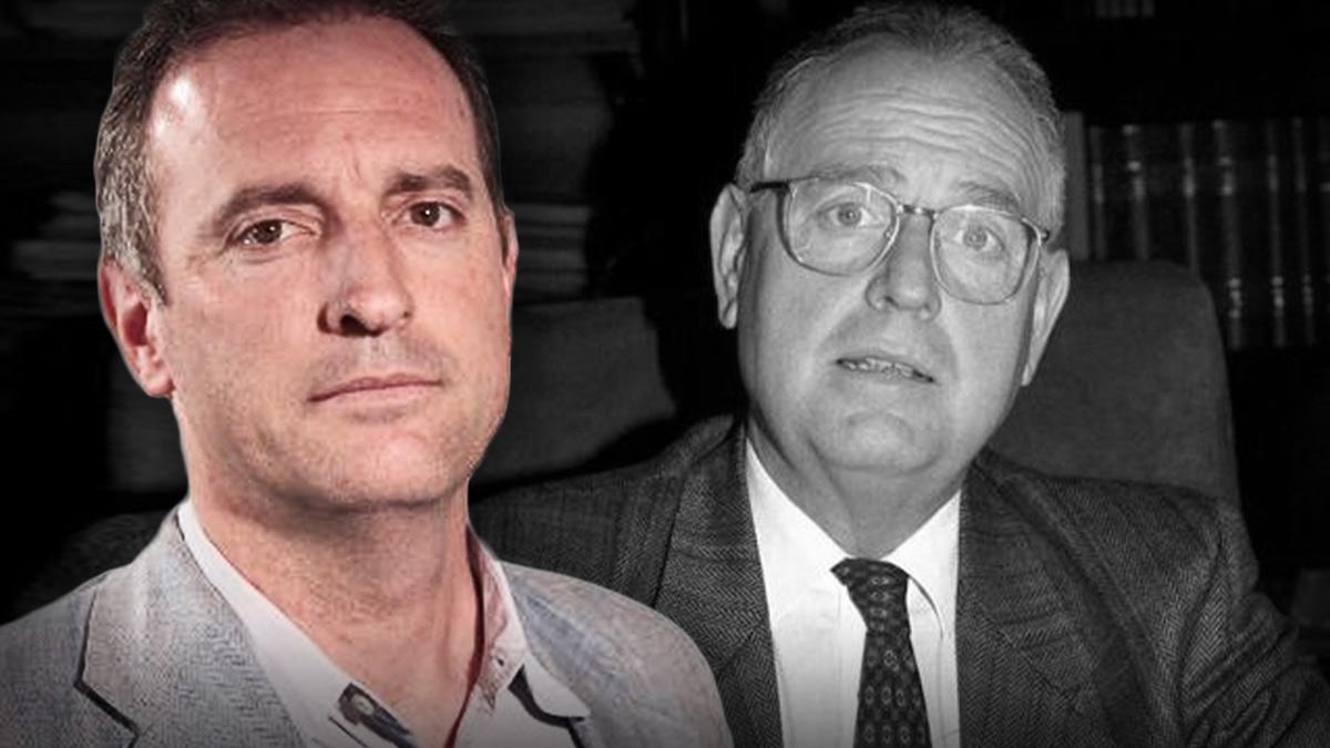 Daniel Portero y su padre, Luis, asesinado por ETA en el 2000.
