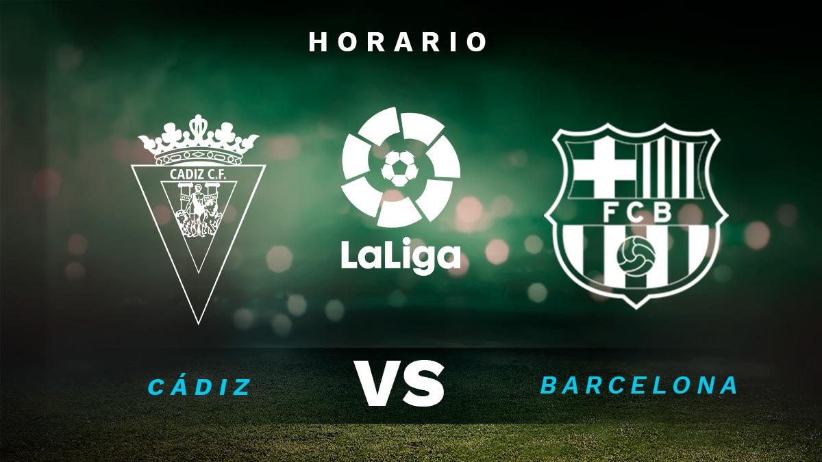 Cádiz – Barcelona: jornada 12 de la Liga Santander.
