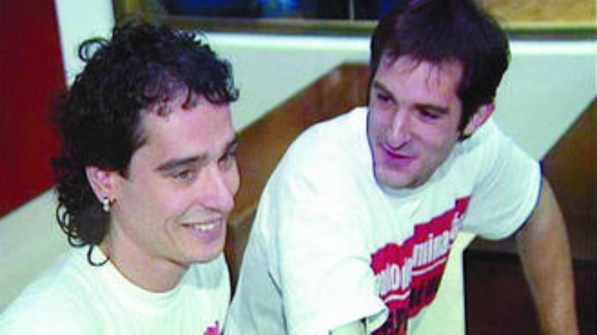 Igor Solana (izquierda), asesino de Portero y Carpena entre otros, será próximamente acercado al País Vasco.