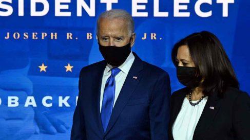 Joe Biden y Kamala Harris. Foto: AFP