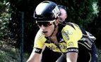 Michael Antonelli en una carrera.
