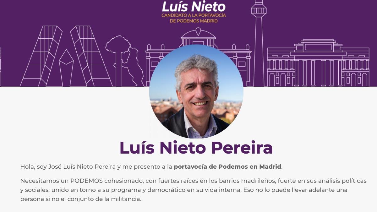 Web de Luis Nieto.