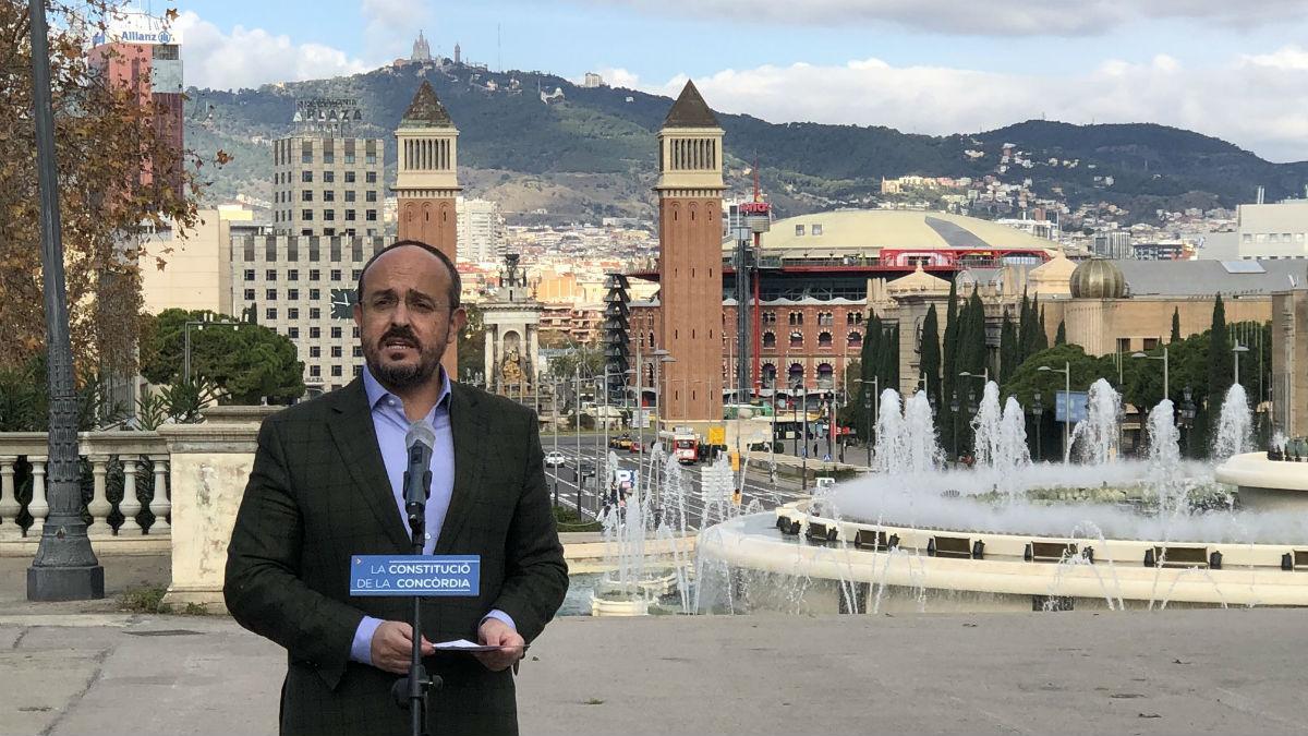 Alejandro Fernández, candidato del PP a la Generalitat.