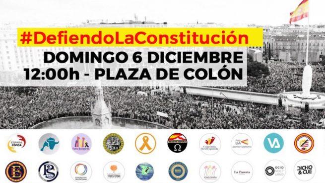 La sociedad civil española se moviliza por todo el país para celebrar el día de la Constitución