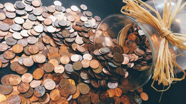 limpiar una moneda