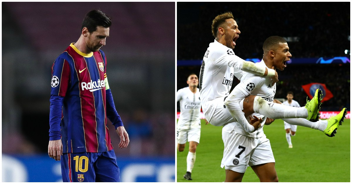 El PSG quiere a Messi… pero prefiere renovar a Neymar y a Mbappé. (Getty)