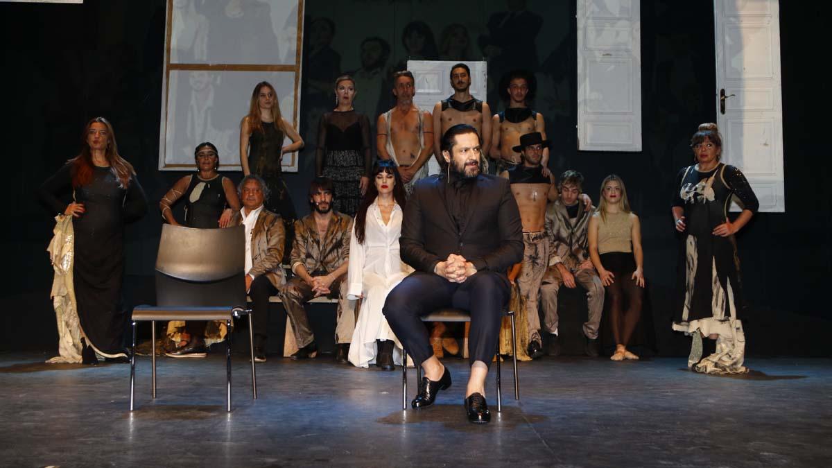 El bailaor durante la presentación de su espectáculo 'Yerma', que este sábado ha estrenado en el Teatro de La Latina de Madrid. Foto: EP