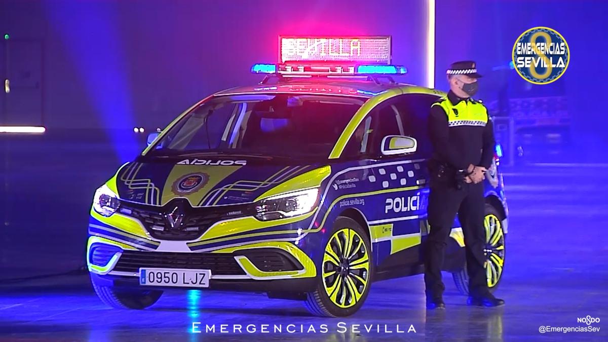 Los nuevos vehículos de la Policía Local de Sevilla.