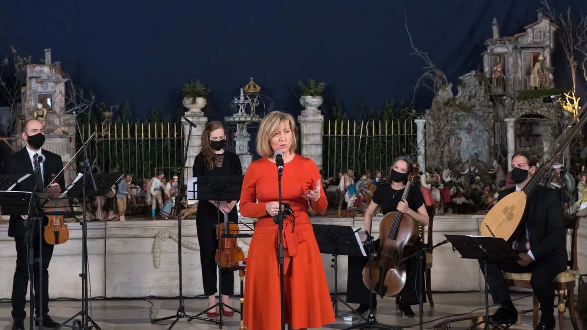 Concierto de inauguración del belén napolitano de Patrimonio Nacional. Foto: EP