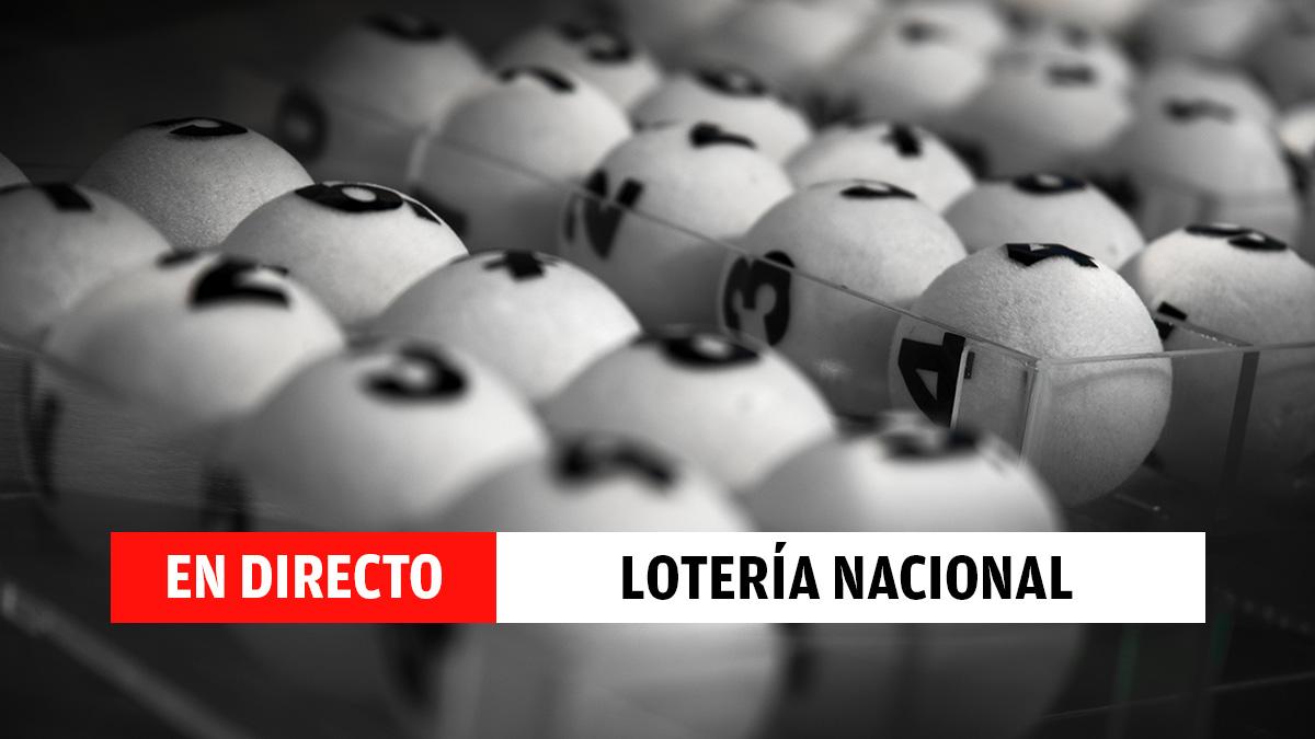 Resultado Sorteo Extraordinario de la Constitución de la Lotería Nacional en directo