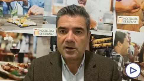 El Secretario General de HostelerÍa de España, Emilio Gallego.