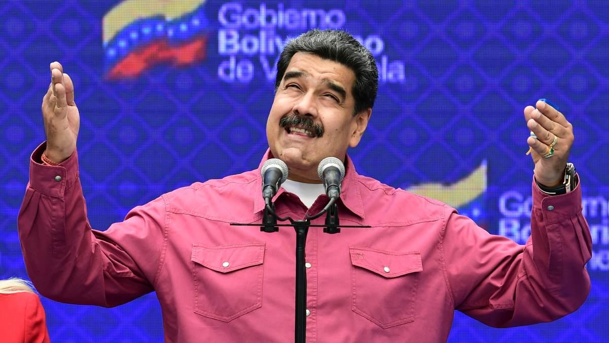 El dictador Nicolás Maduro. Foto: AFP