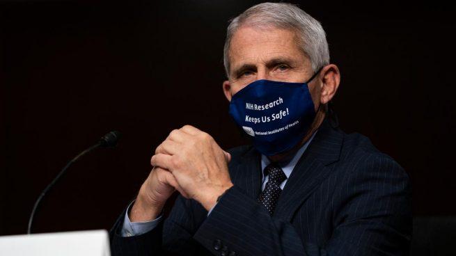 Anthony Fauci, el epidemiólogo jefe de Estados Unidos (Foto: AFP)