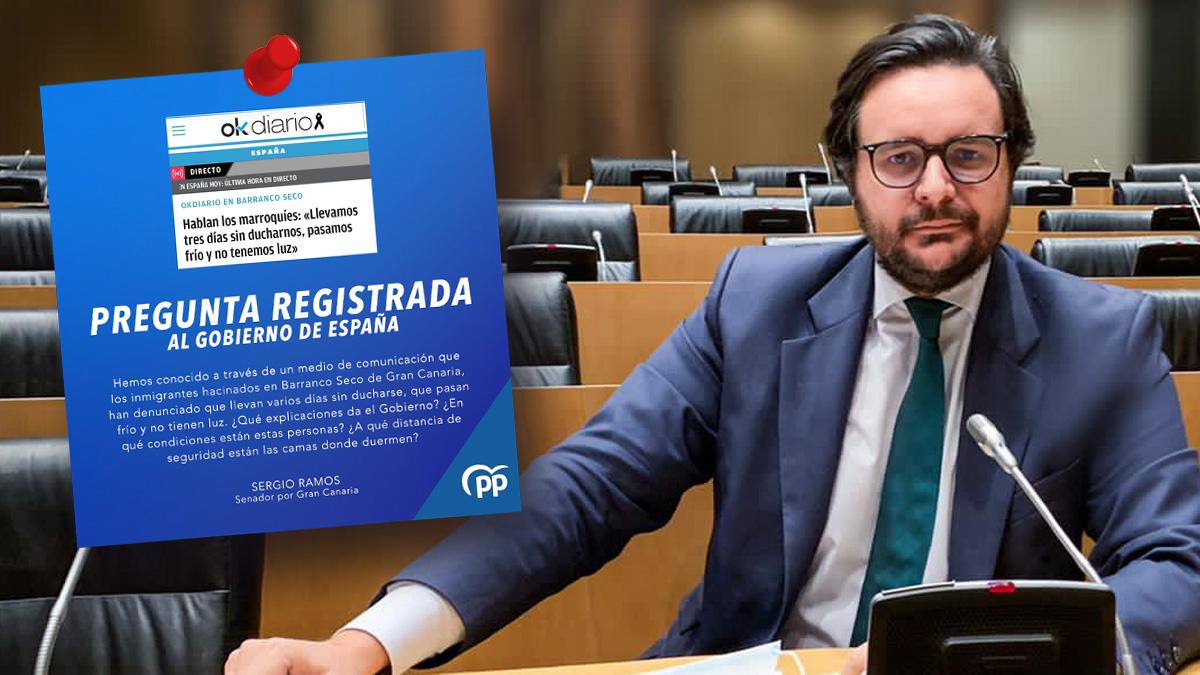 Sergio Ramos, senador del PP de Gran Canaria.