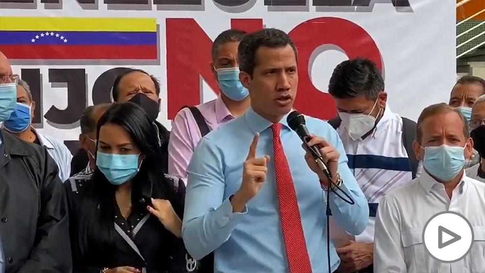 El presidente de la Asamblea Nacional de Venezuela y líder opositor Juan Guaidó. Foto: EP