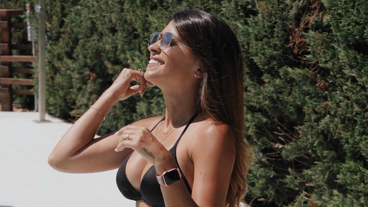 Antonella Rocuzzo en una foto de Instagram.