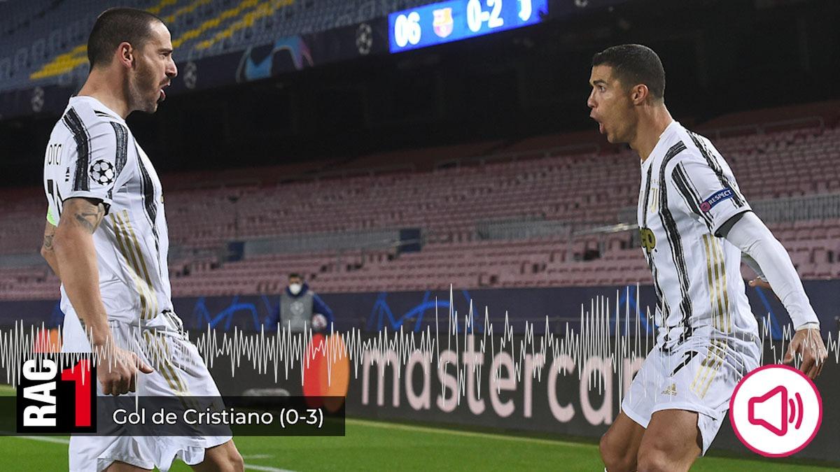 Cristiano Ronaldo fue una pesadilla para los chicos de RAC 1.